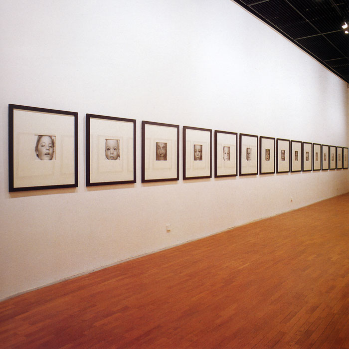 faces, 1985-93.