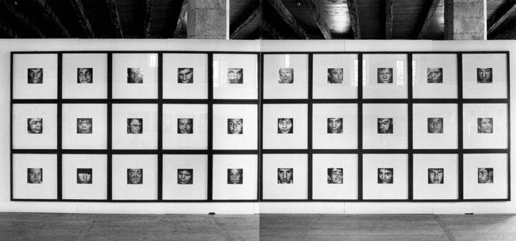 faces (aliénés), 1990-93.