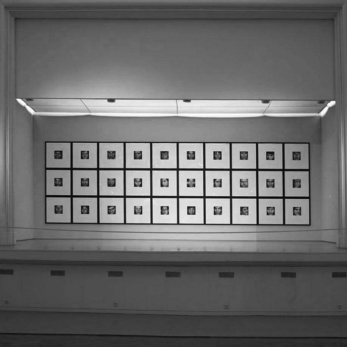 30 faces (aliénés), 1990-93.